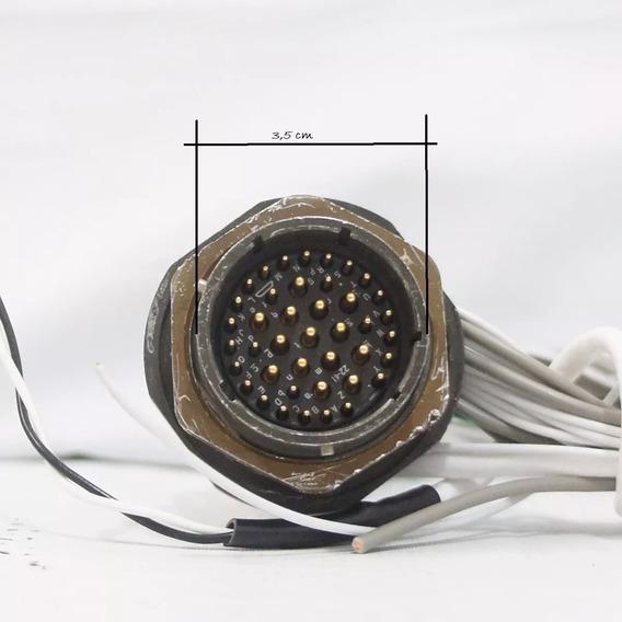 Amphenol Socapex Série 451, C/ 41 Pinos Conector Circular