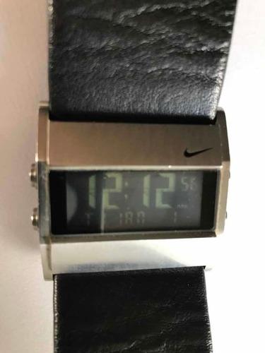 Relogio Nike Bracelete Digital - Pulseira De Couro