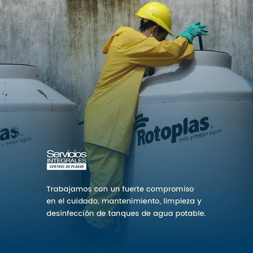 Imagen 1 de 7 de Limpieza De Tanques Analisis Bacteriologico Y Fisicoquimico