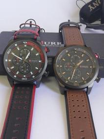 Kit 2 Relógios Curren 8250