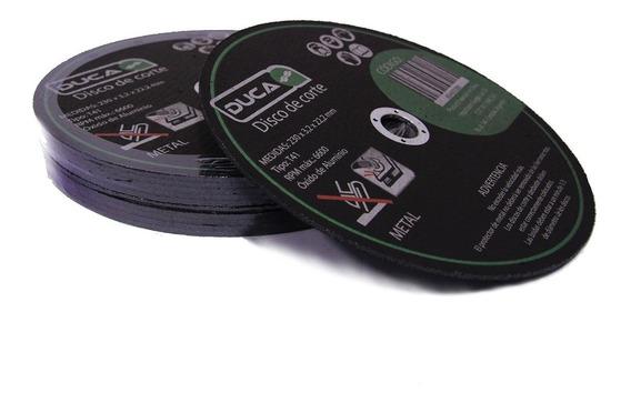 Disco Corte 230 X 2,0 X 22,2 Para Metal Caja 25 Unid.