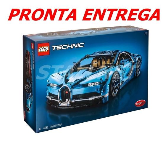 Lego Technic Bugatti Chiron 42083 Pronta Entrega No Brasil