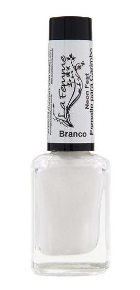 Esmalte Para Carimbo Branco - La Femme