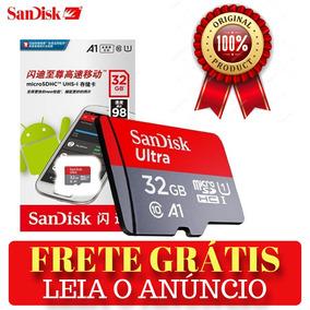 Cartão De Memória Sandisk 32gb Micro Sd Ultra Original 100%
