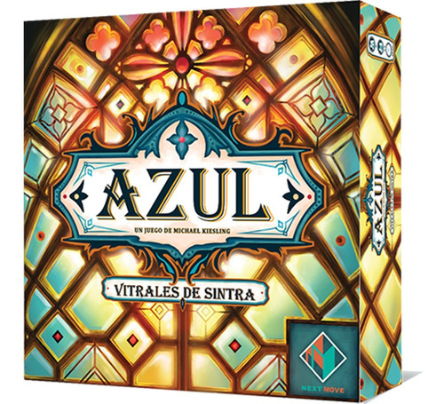 Juego De Mesa Asmodee / Next Move: Azul Vitrales De Sintra