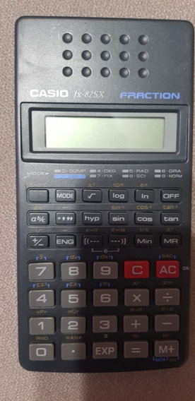 Calculadora Cientifica Casio Fx82-sx Fraction