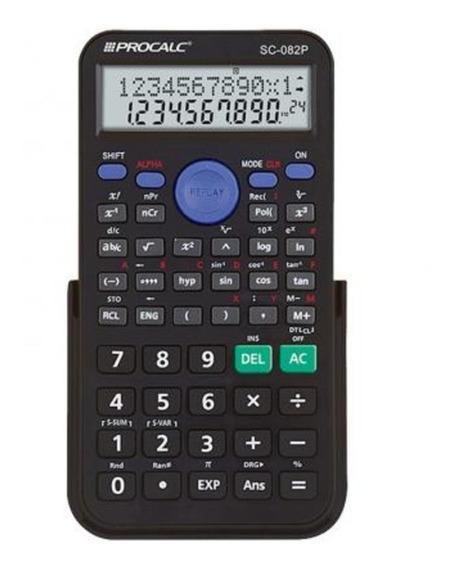 Calculadora Cientifica 240 Funçoes 82p Procalc Novo