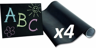 Pizarra Adhesiva X4