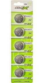 Bateria Moeda Cr 2032 Flexgold 3v Lithium Cartela C/ 10pç