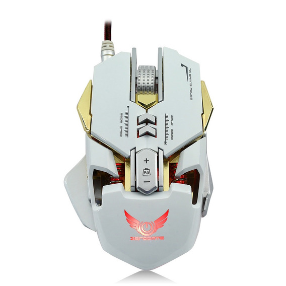 Zerodate X300gy Usb Wired Mouse Gaming Competitivos