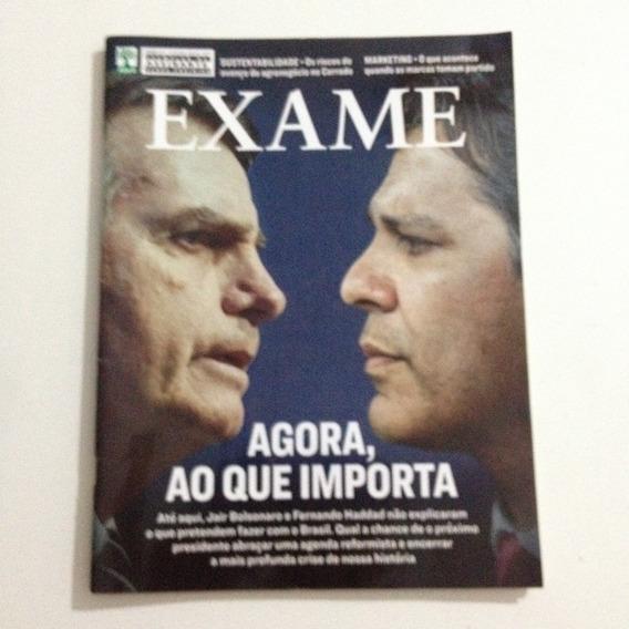 Revista Exame 1171 17/10/2018 Bolsonaro E Haddad Eleição C2