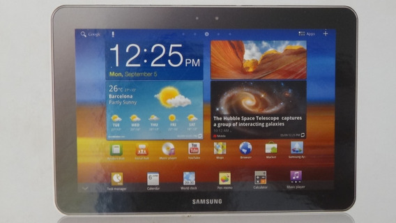 Tablet Galaxy Tab 10.1 Gt-p7500