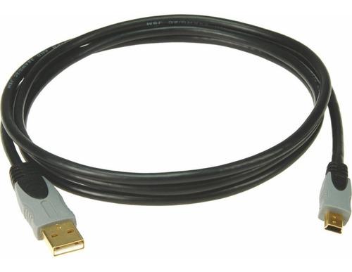 Imagen 1 de 2 de Klotz Data Usbamb1 Cable Usb A Mini Usb De 1,5 Metros
