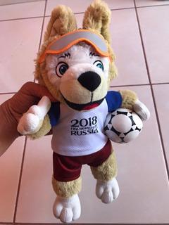 Peluche Lobo Zabivaka Mundial Rusia 2018, 36 Cm.