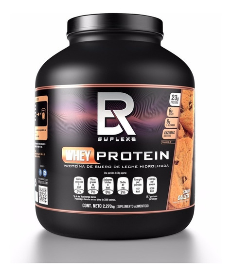 Proteina Br Suplex Whey Protein Hydrolizada 60 Porciones