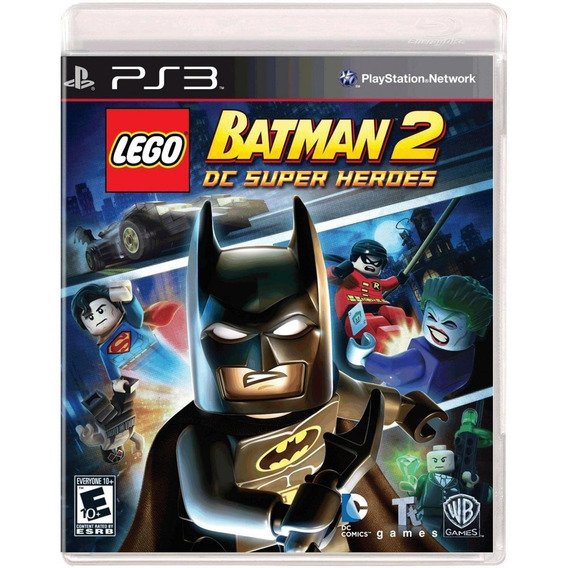 Lego Batman 2: Dc Super Heroes - Ps3 Lacrado