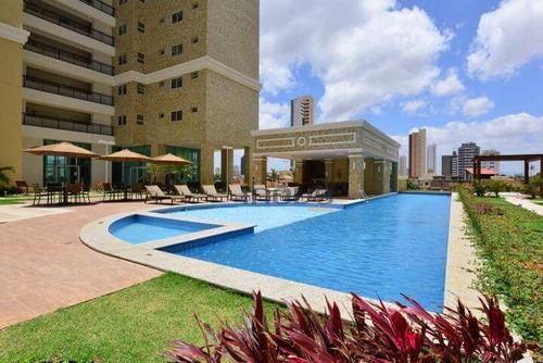 Imagem 1 de 23 de Apartamento Com 3 Dormitórios À Venda, 90 M² Por R$ 698.000,00 - Fátima - Fortaleza/ce - Ap0554