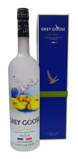 Vodka Grey Goose Sabor Pera Botella De Litro Con Estuche