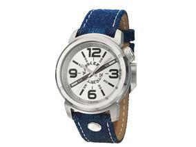 Relógio De Pulso Urban Ys38383q Yankee Street Jeans Azul