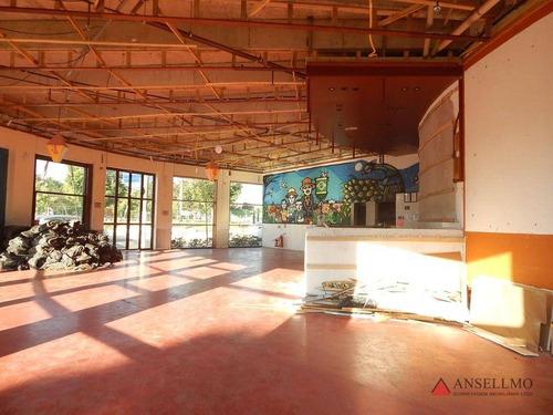Imagem 1 de 14 de Salão Para Alugar, 237 M² Por R$ 14.000,00/mês - Jardim Do Mar - São Bernardo Do Campo/sp - Sl0461
