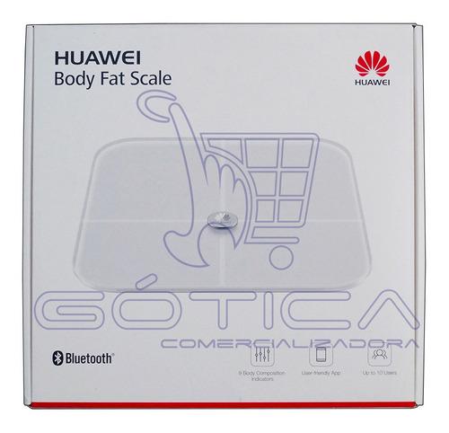 Bascula Balanza Electrónica Inteligente Huawei Androi -ios