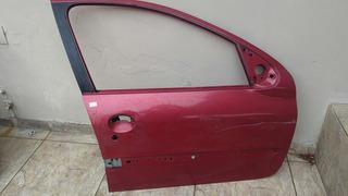 Porta Dianteira Lado Direito Peugeot 206