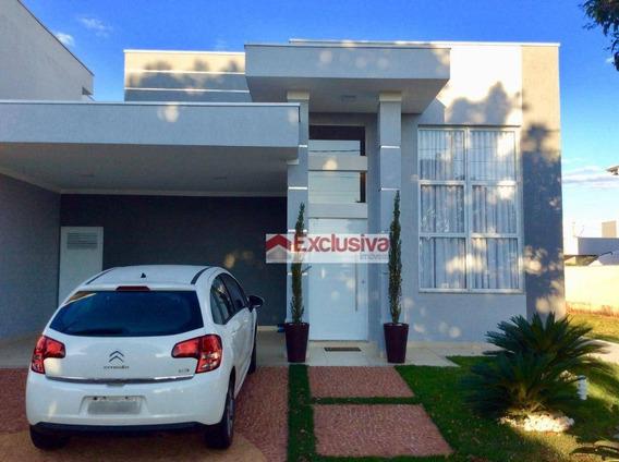 Casa À Venda, 170 M² Por R$ 860.000,00 - Condomínio Reserva Real - Paulínia/sp - Ca1498