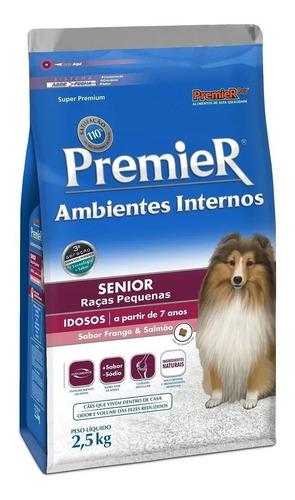 Ração Premier Amb.internos Raças Pq 2,5kg Cães Senior 7anos