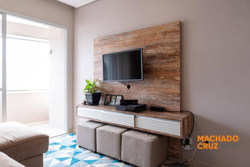 Apartamento Com 3 Dormitórios À Venda, 82 M² Por R$ 440.000,00 - Jardim Nova Petrópolis - São Bernardo Do Campo/sp - Ap0085