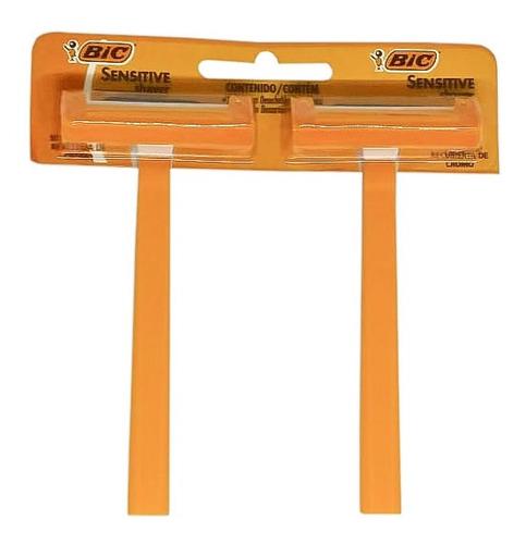 Imagen 1 de 1 de Afeita Bic Maquinita Afeitar 1 Filo X 24 Unidades