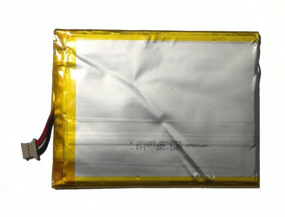 Bateria Para Tablet Multilaser Pl337195p 3.7v 2700mah 9.99wh
