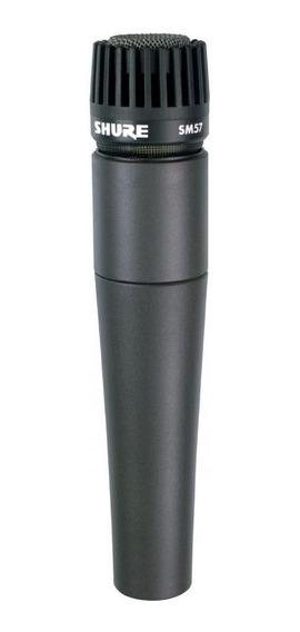 Microfone Shure SM57-LC dinâmico preto