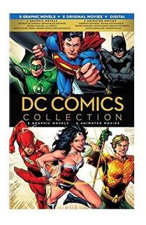 Colección Dc Comics: 6 Novelas Gráficas, + 6 Películas
