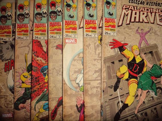 Coleção Historica Paladinos Marvel 1 2 3 5 6 7 8 Panini Exce