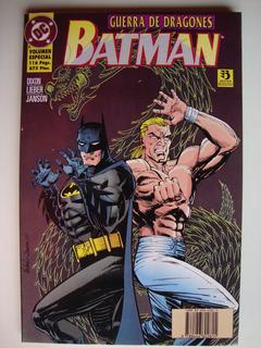 Batman Guerra De Dragones Tomo Completo Comics Duncant