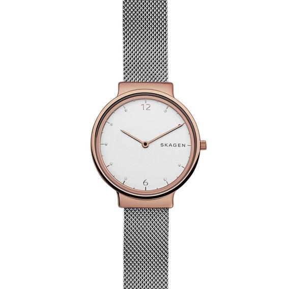 Relógio Skagen Feminino Slim Analógico Skw1086/1bn