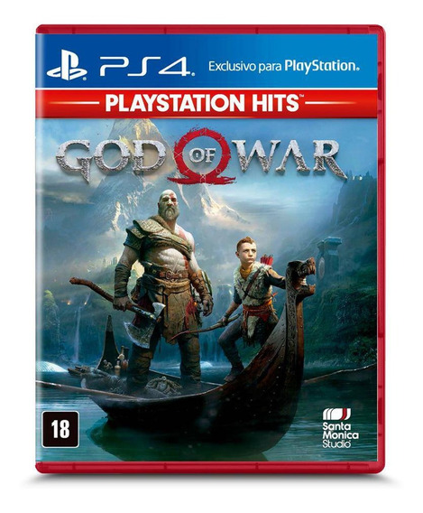 God Of War Ps4 Playstation Hits Mídia Física Português