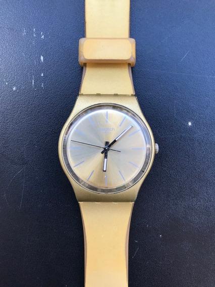 Relógio Swatch Especial Gz233 Winter Sun