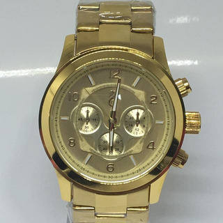 Relógio Atlantis Dourado Feminino Lançamento+caixa