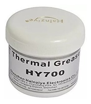Pasta Térmica Prata Cinza Thermal Silver 100g Halnziye Hy710