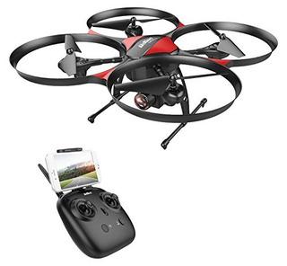 Drocon U818plus Wifi Fpv Drone Con Cámara Granangular Hd.