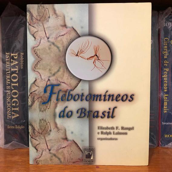 Livro Flebotomineos Do Brasil