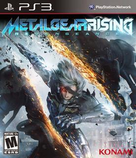Metal Gear Rising Revengeance Nuevo Sellado Ps3