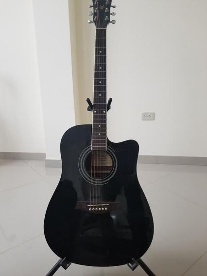 Guitarra Electroacustica Ibanez V70ce Negra (guayaquil)