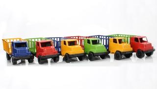Kit Com 20 Caminhão De Plástico Brinquedo Barato No Atacado