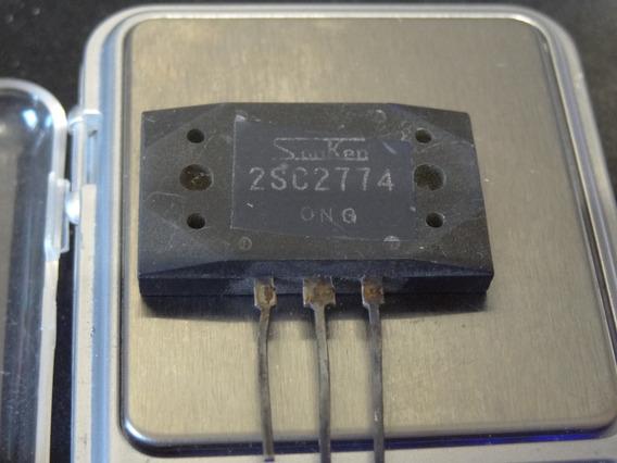 Transistor Japones 2sc2774 Sanken Genuino Antigo 18,5 Gramas
