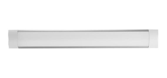 Tubo Lampara Led 18w 60 Cm Ultradelgada Opaca Luz Cálida