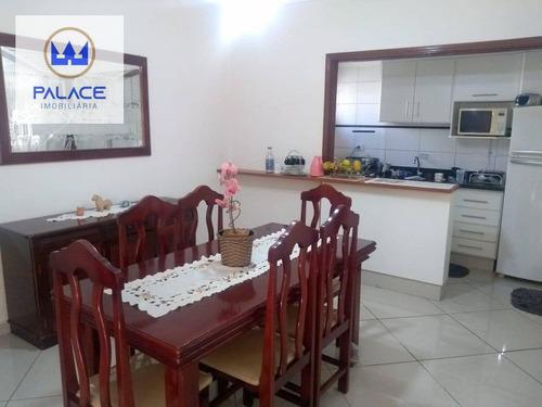 Imagem 1 de 17 de Casa Com 3 Dormitórios À Venda, 162 M² Por R$ 400.000,00 - Paulista - Piracicaba/sp - Ca0193