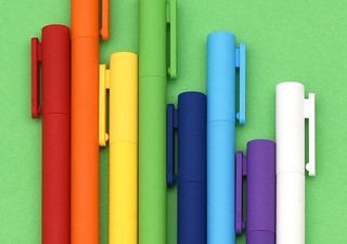 Xiaomi Pluma De Gel Mijia Youpin Kaco K1 Caja Con 8 Colores