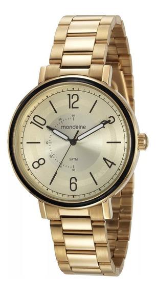 Relógio De Pulso Feminino Mondaine 53677lpmvde1